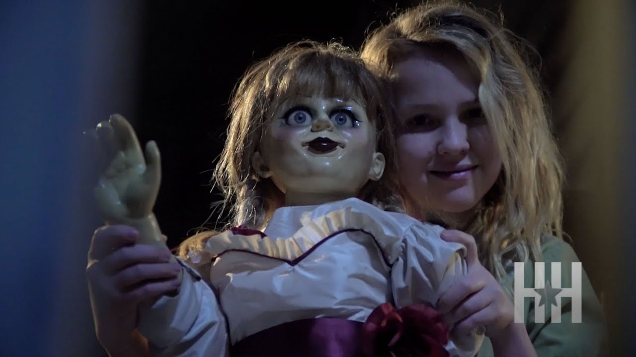 Cast Of 39 Annabelle Creation 39 Freaked Out On Set Youtube