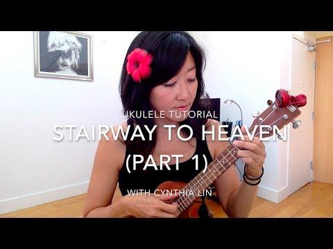 Stairway to Heaven Part 1 // Ukulele Tutorial