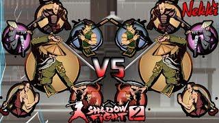 Shadow Fight 2, Hermit+BodyGuard Vs Hermit+BodyGuard