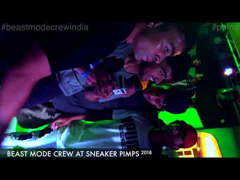 Beast Mode Crew at SNEAKER PIMPS Pune | Flying Machine and Wildchild Rap version