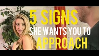 Wants to talk a Signs her you woman to