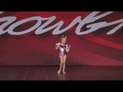 "5 year old Everleigh - her 1st dance solo ""Miss Showbiz Title"""