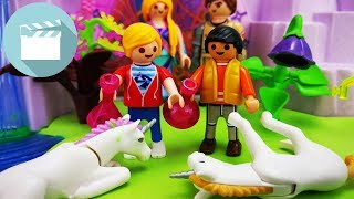 Playmobil Ghostbusters Film deutsch   Marvin und Jonas retten Einhörner im Zauberwald   Playmobil