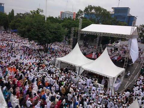 Ceramah Habib Rizieq di Medan Luar Biasa Sambutan Warga Sumatra Utara