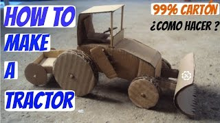 Wow! Amazing tractor DIY at Home