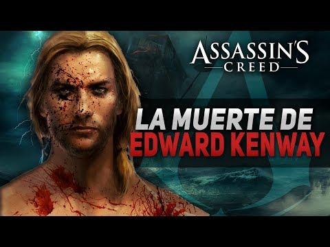 Assassin's Creed 4 Black Flag | La muerte de Edward Kenway | El FINAL de la historia | Explicación