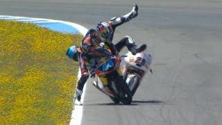 Manzi rear-ends Oliveira