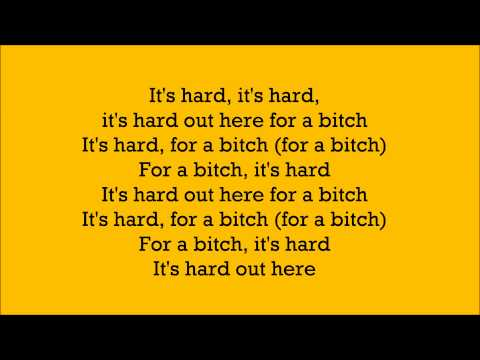 Hard Out Here ~ Lily Allen ~ Lyric Video
