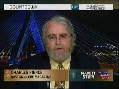 David Shuster Vs. A Ranting Charles Pierce on
