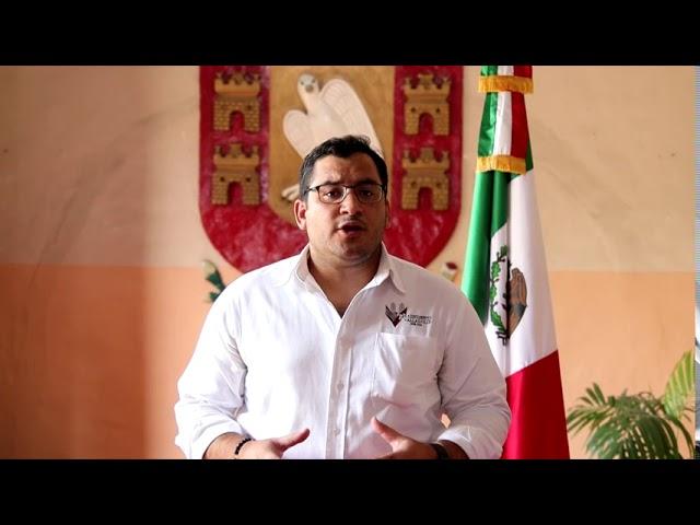 Comunicado presidente municipal de Valladolid Yucatán por Covid-19