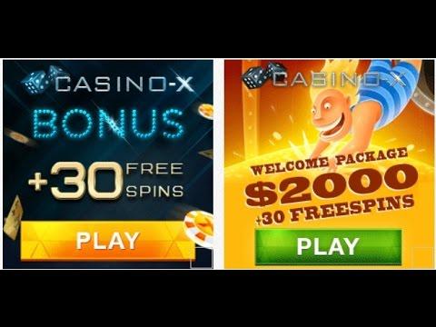 Казино Х - бонус на деньги в Casino X!