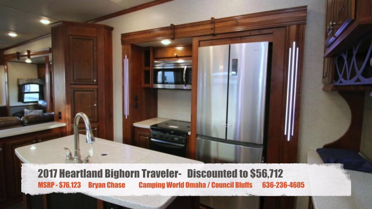 Camping World Council Bluffs >> 2017 Heartland Bighorn Traveler 39rd Youtube