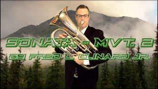 Sonata Mvt 2 - Fred L  Clinard Jr