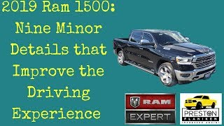 2019 Ram 1500 Review: Details that Improve your Driving Experience Preston Flaniken