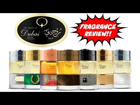 Fragrance Review - The Spirit of Dubai - The First Generatio