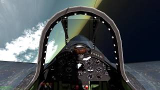Aces High III-Combat Flight Sim Gun Camera Footage -F4U-4 Sortie (another water mort)