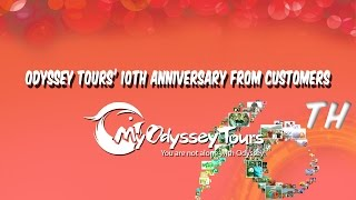Congratulations on Odyssey Tours