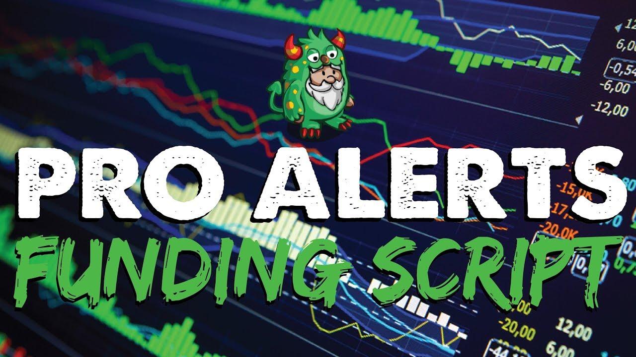 Gnome Alerts Pro - BitMEX & Deribit Funding Script
