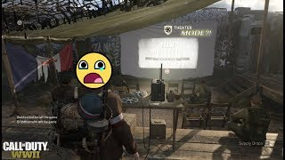 WHERE IS THEATER MODE IN WWII?! WHY ISN