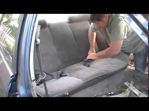 How To Remove Honda Civic Back Seat Youtube