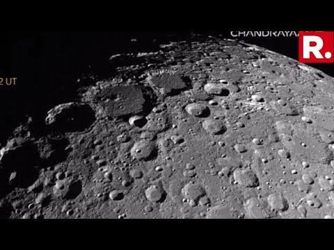 Chandrayaan-2 A Step Closer To Moon, ISRO Releases Pictures Of Lunar Surface