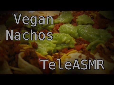 ASMR - Cookin'  Up Some Vegan Nachos [Cooking Sounds][No Talking]