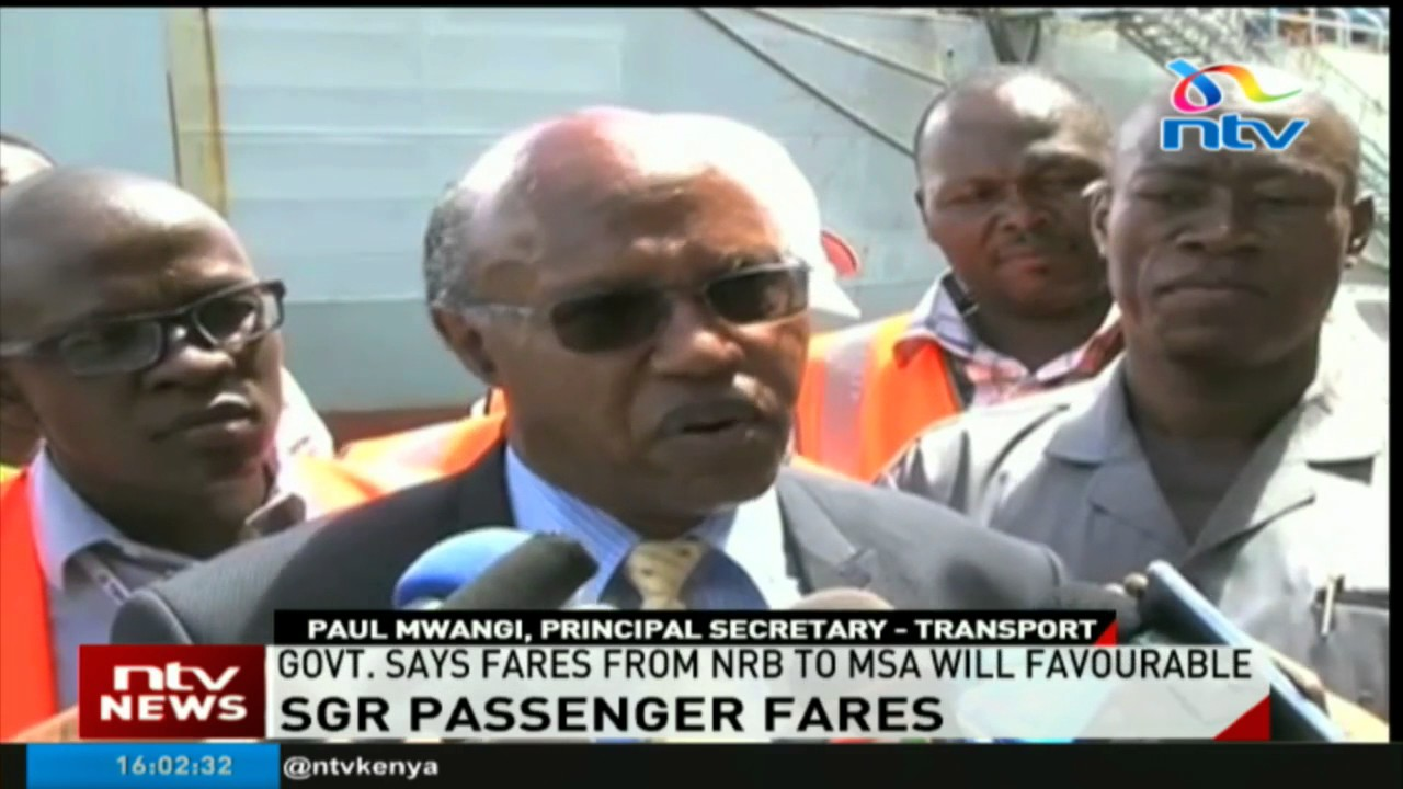 Mombasa-Nairobi route SGR train tickets will be favourable says government