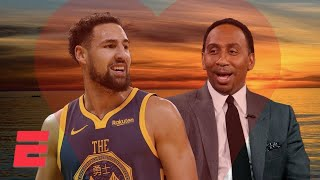 Stephen A. can't get over how good Klay Thompson is   NBA on ESPN