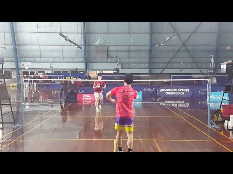 Australian Junior International Kc Teoh Vs Elton Zhang
