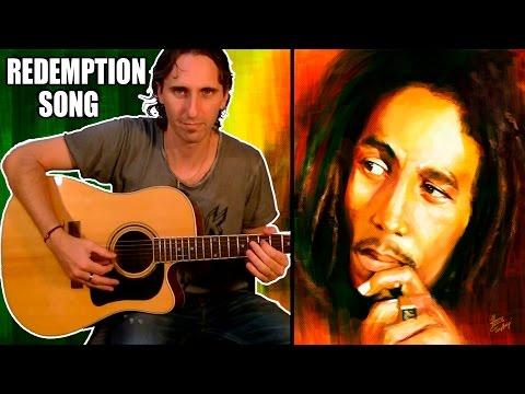 Como Tocar Redemption Song En Guitarra Acústica -Bob Marley - Tutorial Completo TCDG