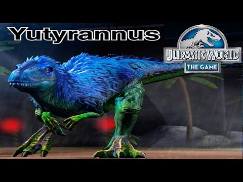 YUTYRANNUS  - Jurassic World The Game - HD