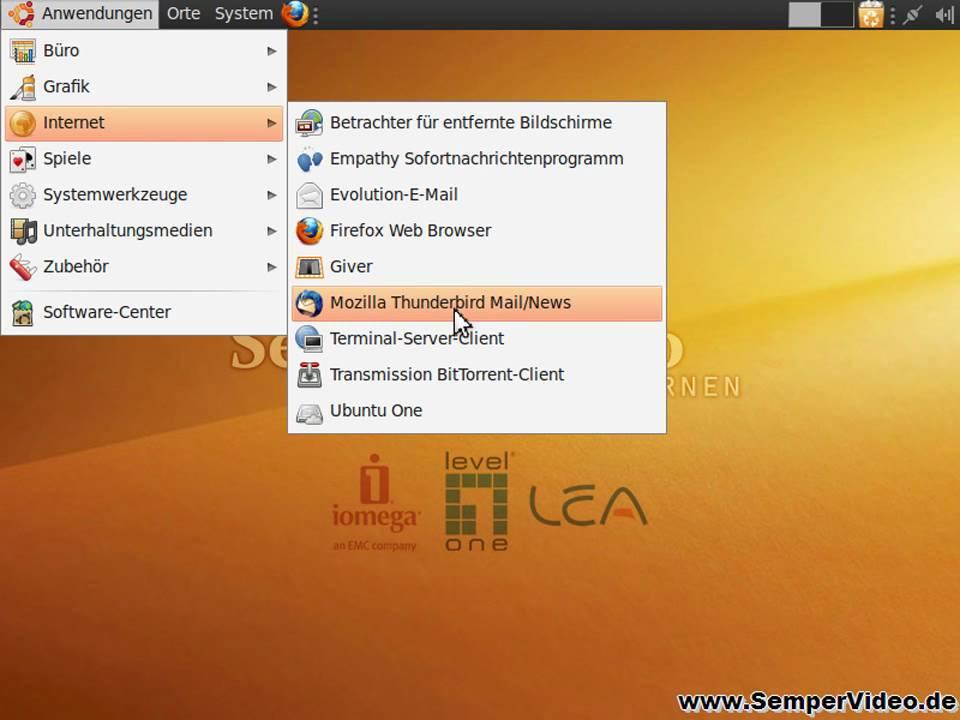 Ubuntu 9 10: Thunderbird installieren