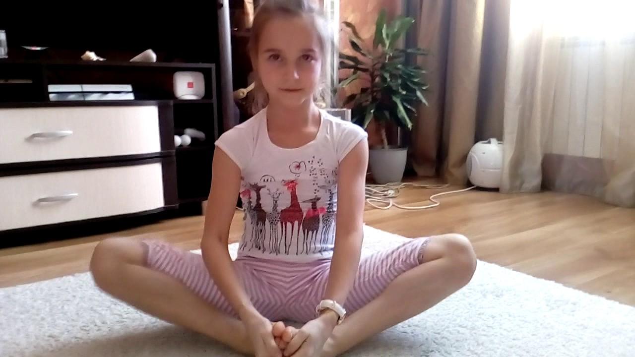 Разминка для художественной гимнастики!