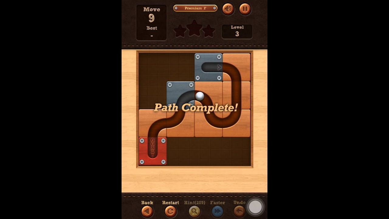 Roll The Ball Slide Puzzle Premium F Pack Level 3 Solution Youtube