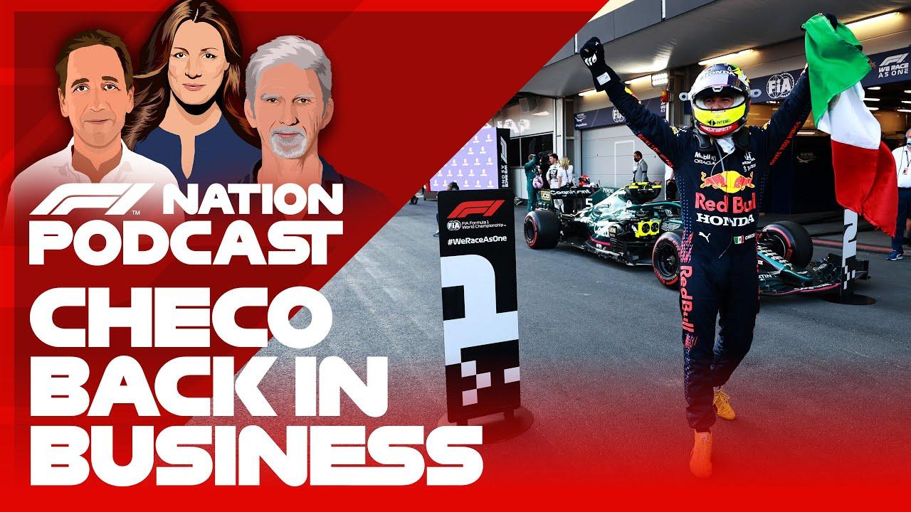 Checo revient aux affaires après une course Bonkers à Bakou    Podcast F1 Nation