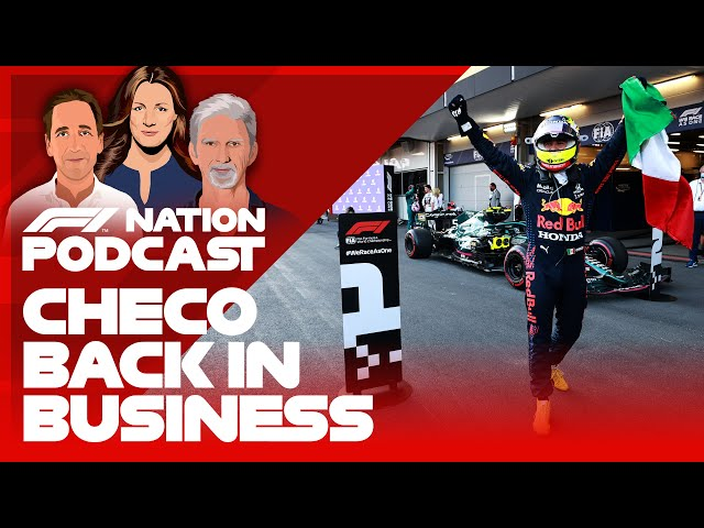 Checo's Back In Business After A Bonkers Baku Race   F1 Nation Podcast
