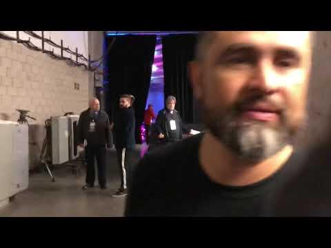 Manny Robles habla sobre Oscar Valdez vs Scott Quigg - Post Fight Interview