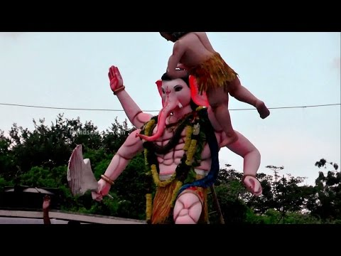 Ganesh Immersion | Hyderabad Vinayaka...