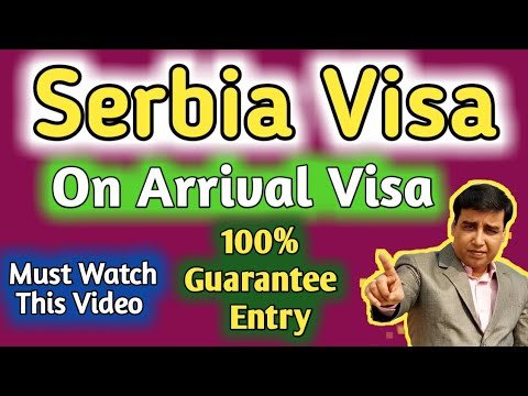Serbia Visa On arrival Full Process