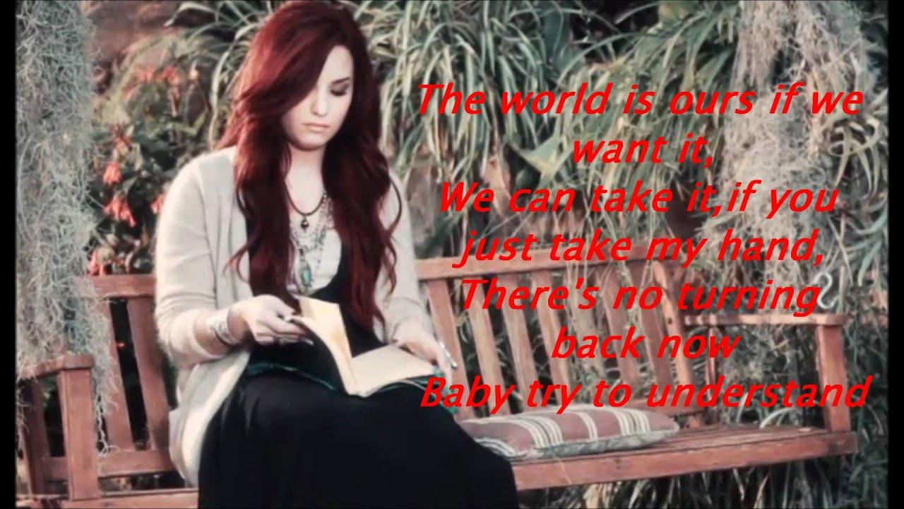 Give Your Heart A Break lyrics - Demi Lovato - Genius Lyrics