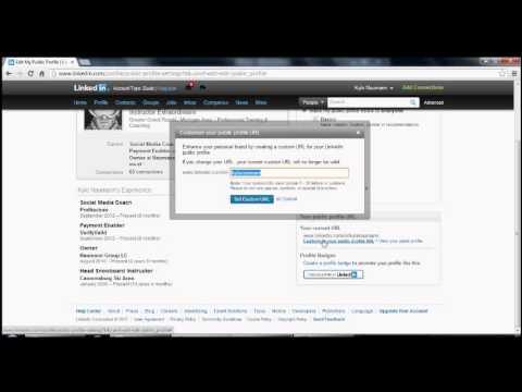 Profitecture Social Media Tip of The Week: Custom URL on LinkedIn