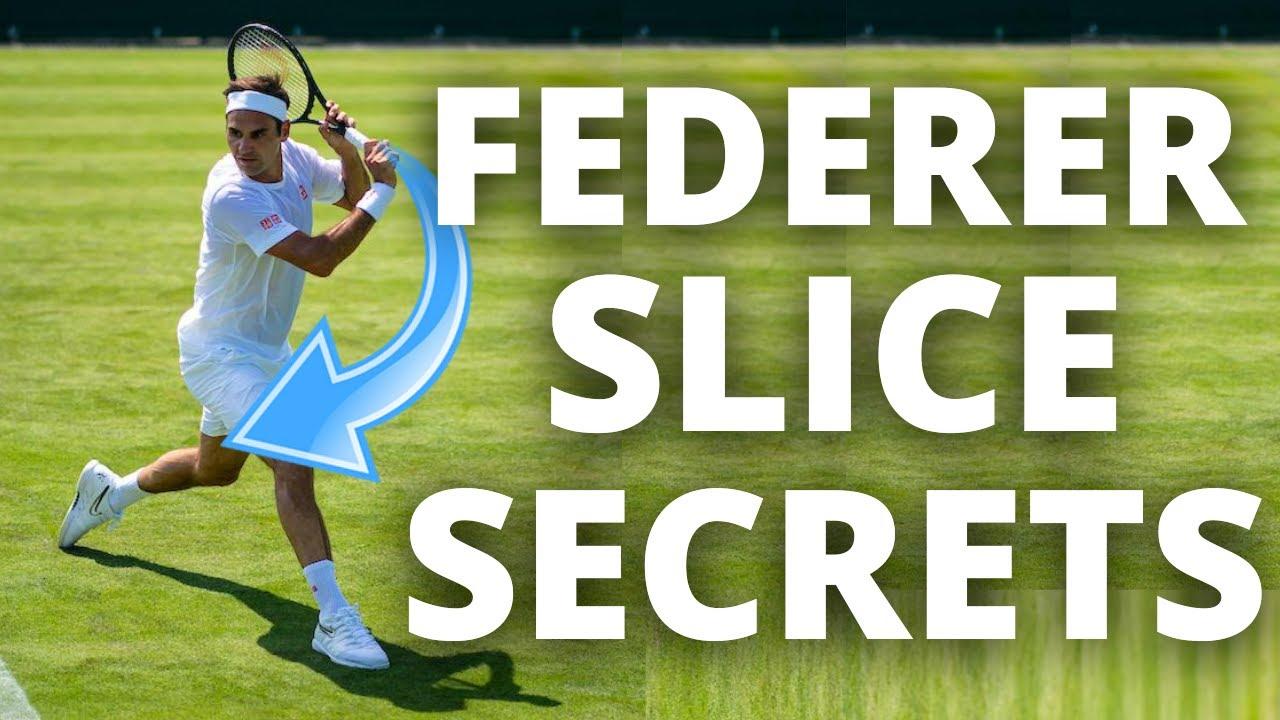 Roger Federer Slice Backhand Analysis - How To Knife Your Slice Like Federer