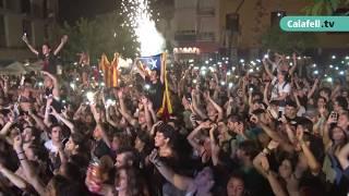 Concert Bon Carme amb el grup calafellenc Buhos