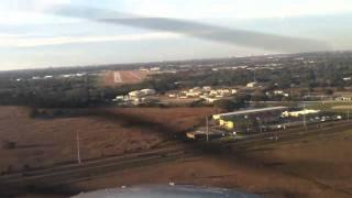 Crosswind landing at KISM