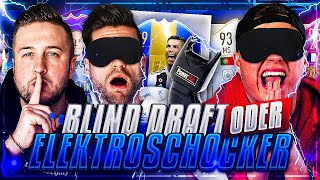 Blind Draft oder HARDCORE ELEKTROSCHOCKER 😱🔥 NEUES FORMAT !! vs Nohandgaming ! FIFA 19