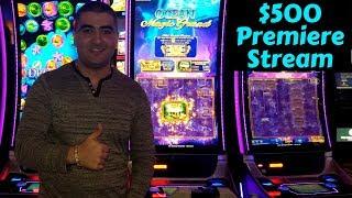 Premiere Stream ! $500 Live Slot Play at Pechanga Casino ! Part 1
