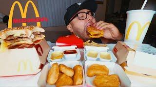 MCDONALDS MUKBANG | BIG MAC + NUGGETS