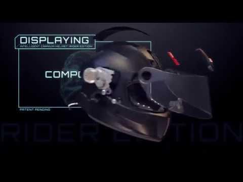 iC-R Motorcycle Helmet Concept