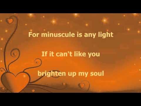 Stevie Wonder For your love(lyrics)
