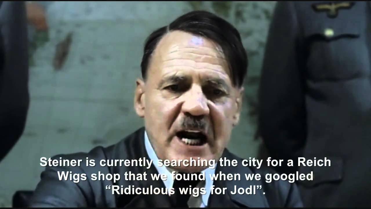 Hitler plans to buy Jodl a wig